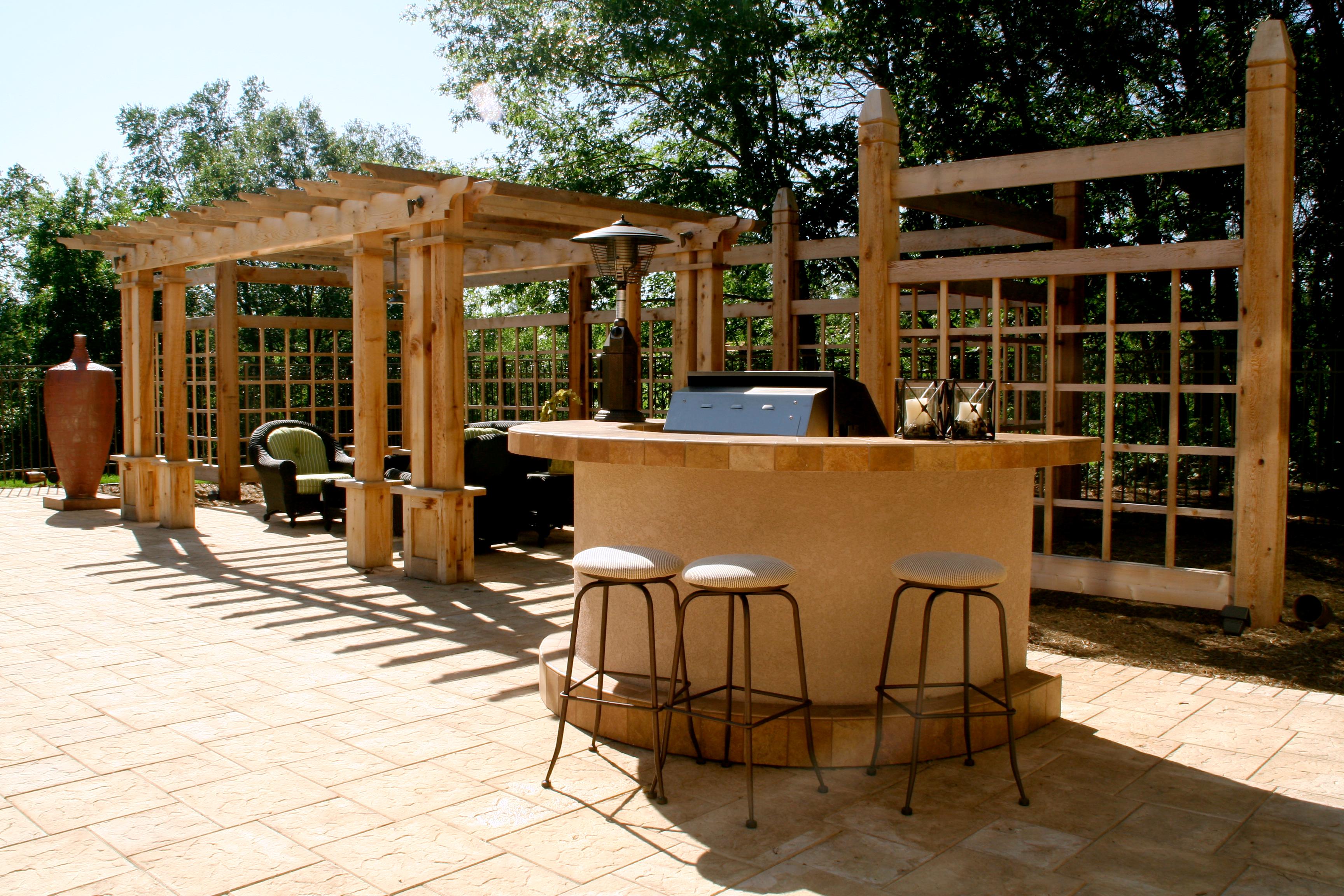 Berning - Grill Bar & Pergola